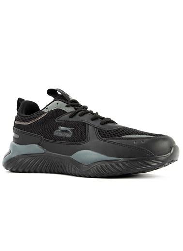 Slazenger Slazenger Toxic Sneaker Erkek Ayakkabı  Siyah